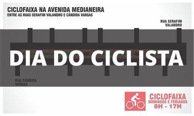Dia do ciclista!