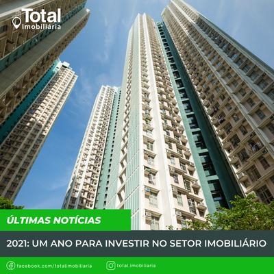 2021: Um ano para investir no setor imobiliário
