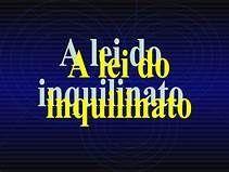 LEI DO INQUILINATO