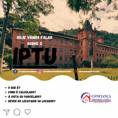 IPTU (Imposto Predial e Territorial Urbano) e a Dívida ativa