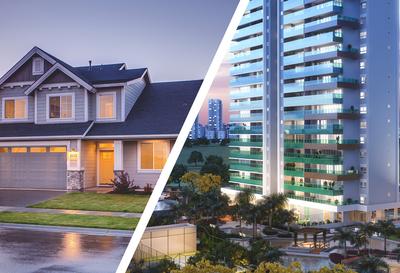 Casa ou apartamento? Qual é a melhor escolha para você?
