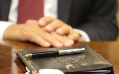 A caneta do Governador