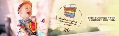A cada livro aberto, uma nova história se inicia