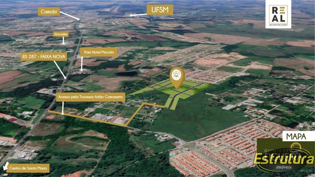 Terreno/Lote à venda  no Diácono João Luiz Pozzobon - Santa Maria, RS. Imóveis
