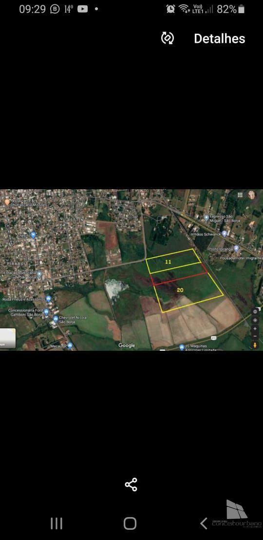 Terreno/Lote à venda  no Centro - São Borja, RS. Imóveis