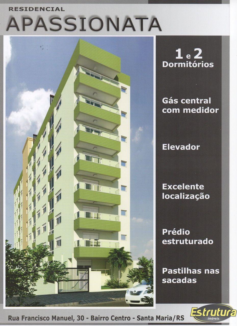 Apartamento com 1 Dormitórios à venda, 46 m² por R$ 191.662,00