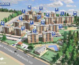 Localização do prédio no condomínio