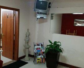 Sala de espera vista da entrada