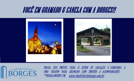Você em Gramado e Canela com a Borges!