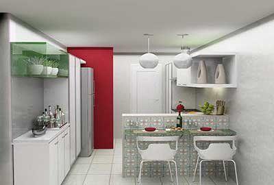 5 Dicas para fazer sua cozinha parecer maior!