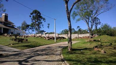 Country Ville - muro de divisa com loteamento Borba - Quadra A.