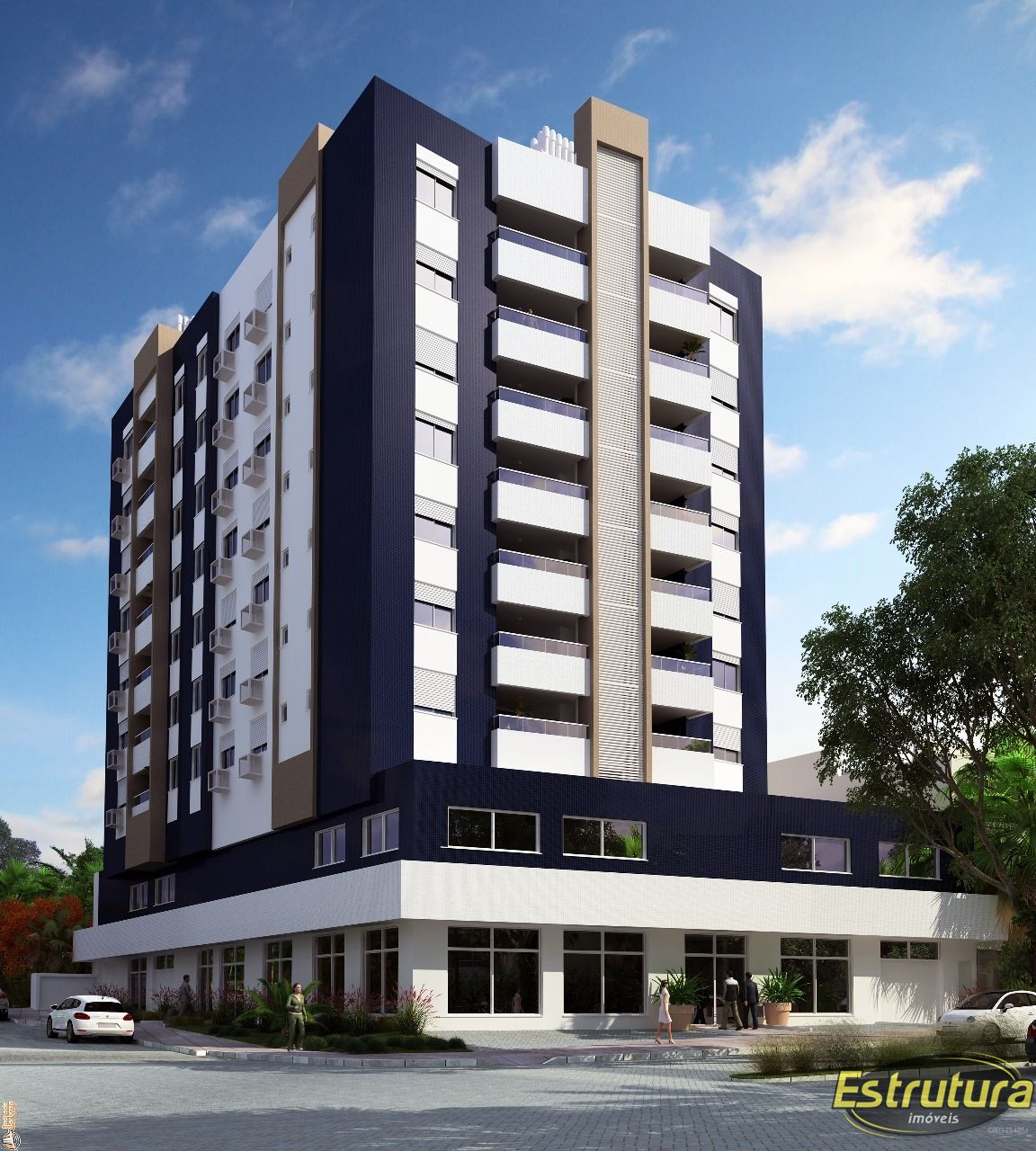 Apartamento com 2 Dormitórios à venda, 80 m² por R$ 468.000,00