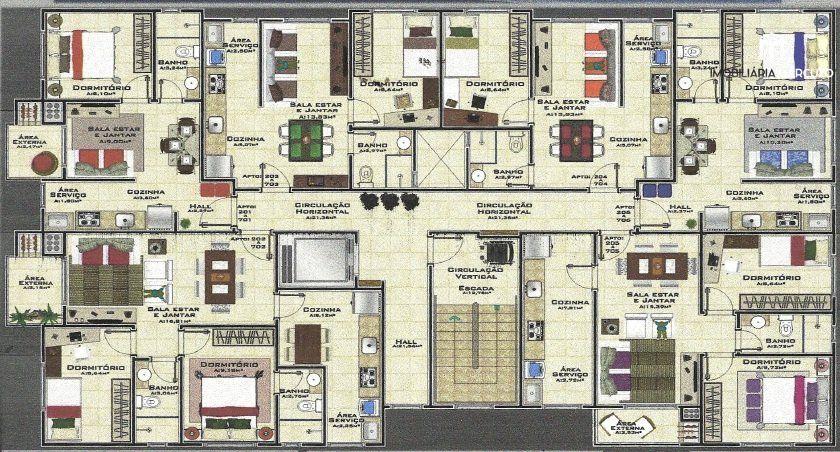 Apartamento com 1 Dormitórios à venda, 37 m² por R$ 140.000,00