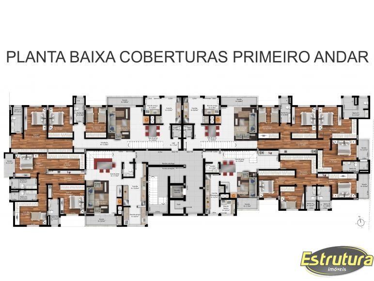 Cobertura com 4 Dormitórios à venda, 343 m² por R$ 1.490.000,00