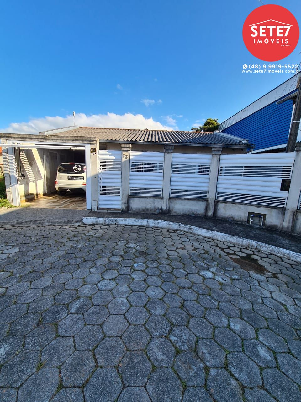 Casa à venda  no Aririú da Formiga - Palhoça, SC. Imóveis