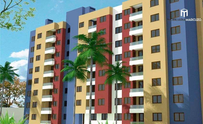 Apartamento com 2 Dormitórios à venda, 59 m² por R$ 242.000,00