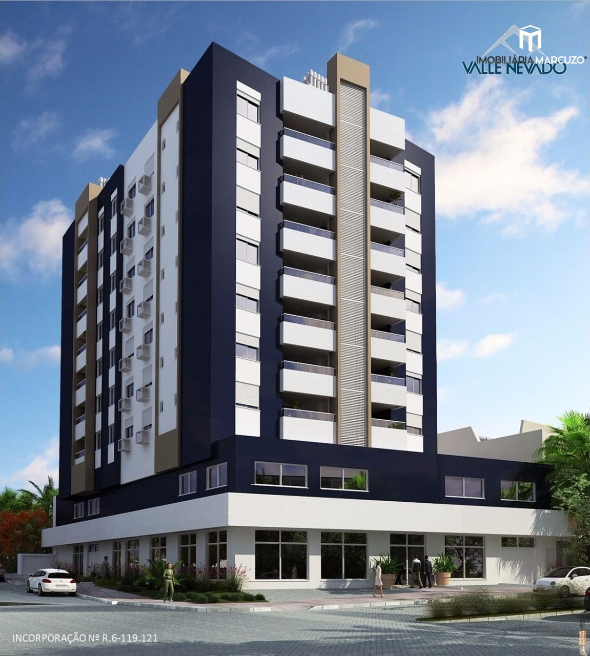 Apartamento com 3 Dormitórios à venda, 122 m² por R$ 679.000,00