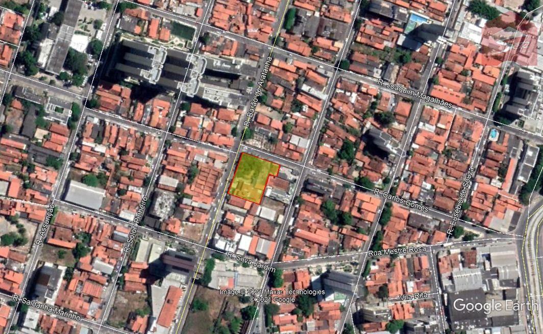 Terreno/Lote à venda  no Fátima - Fortaleza, CE. Imóveis