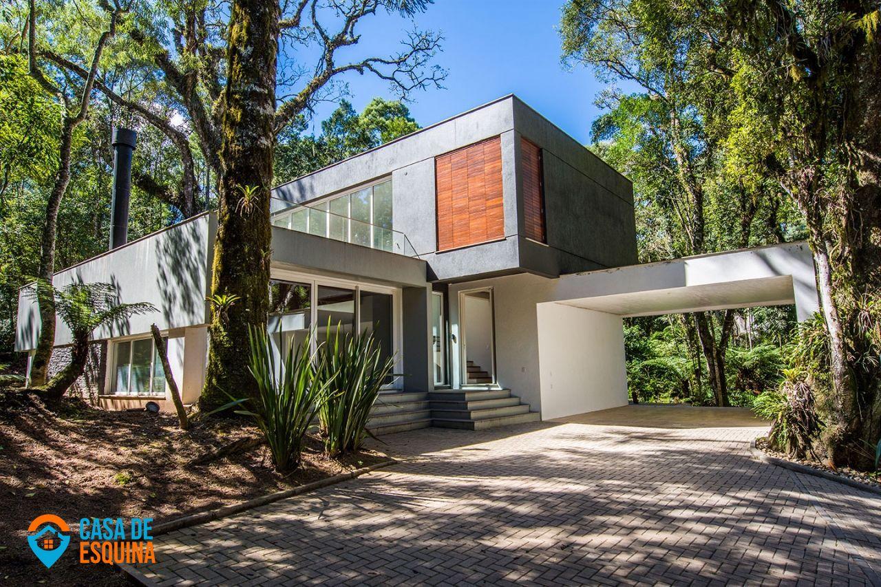 Casa em condomínio à venda  no Mato Queimado - Gramado, RS. Imóveis