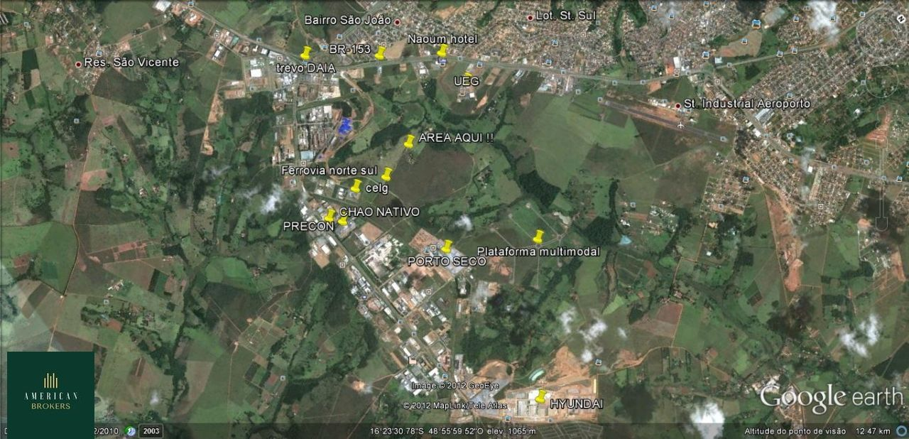 Terreno/Lote à venda  no Distrito Agroindustrial de Anápolis - Anápolis, GO. Imóveis