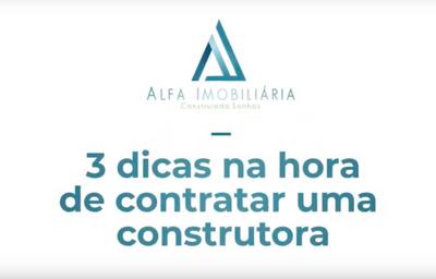3 Dicas na hora de contratar uma construtora