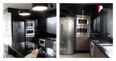 ARQDOMOS Interiores: Projeto Cozinha Black