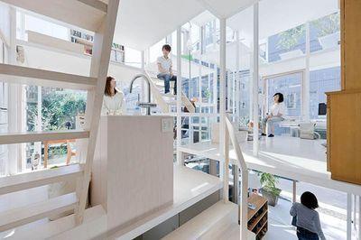 ARQUITETURA: Casa Transparente ou Casa de Vidro em Tóquio