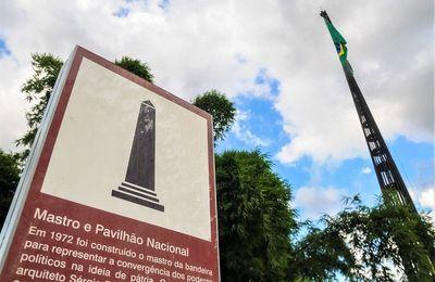 Mastro da bandeira do Brasil será reformado