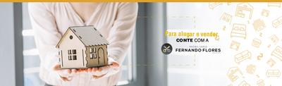Para alugar ou vender, conte com a Imobiliária Fernando Flores