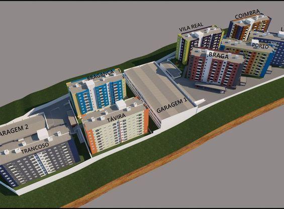 Conjunto de Edificios Augusto Martins Ed. Porto