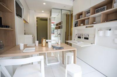 Apartamentos compactos são tendência no mercado