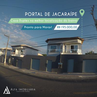 Empreendimento de casas Portal de Jacaraipe