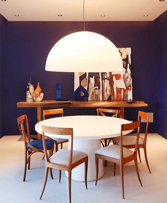 Tendência Casa Alphaville Lagoa dos Ingleses: lustres para mesa de jantar