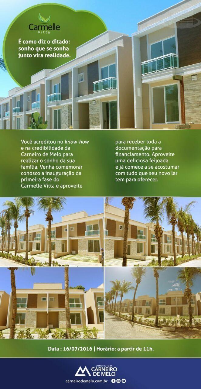 Casa em condomínio com 3 Dormitórios à venda, 94 m² por R$ 445.000,00