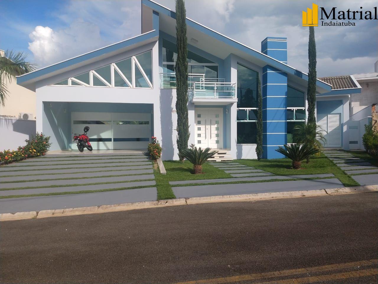 Casa em condomínio à venda  no Jardim dos Lagos - Indaiatuba, SP. Imóveis