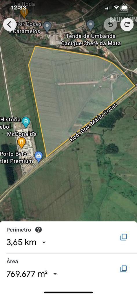 Terreno comercial à venda  no Zona Rural - Porto Belo, SC. Imóveis