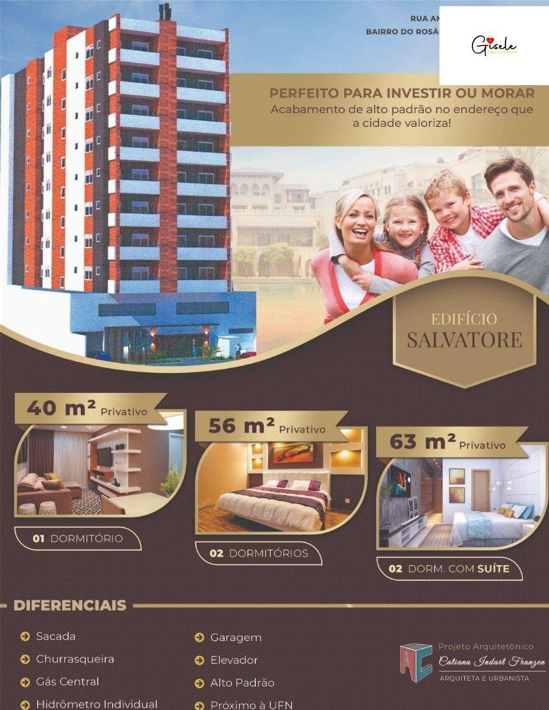 Apartamento com 2 Dormitórios à venda, 62 m² por R$ 290.000,00