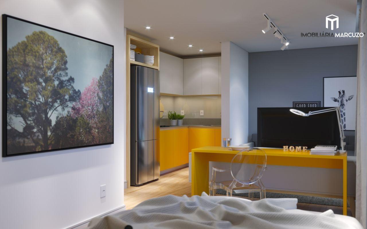 Kitinets/conjugados com 1 Dormitórios à venda, 28 m² por R$ 176.154,00
