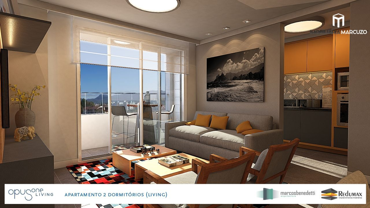 Apartamento com 2 Dormitórios à venda, 71 m² por R$ 366.900,00