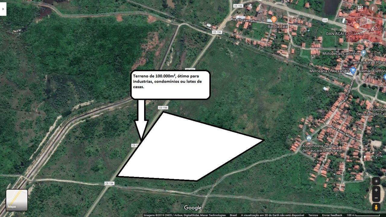 Terreno/Lote à venda  no Zona Rural - Caucaia, CE. Imóveis