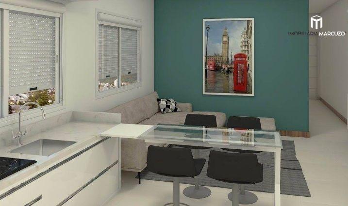 Apartamento com 2 Dormitórios à venda, 60 m² por R$ 344.183,00