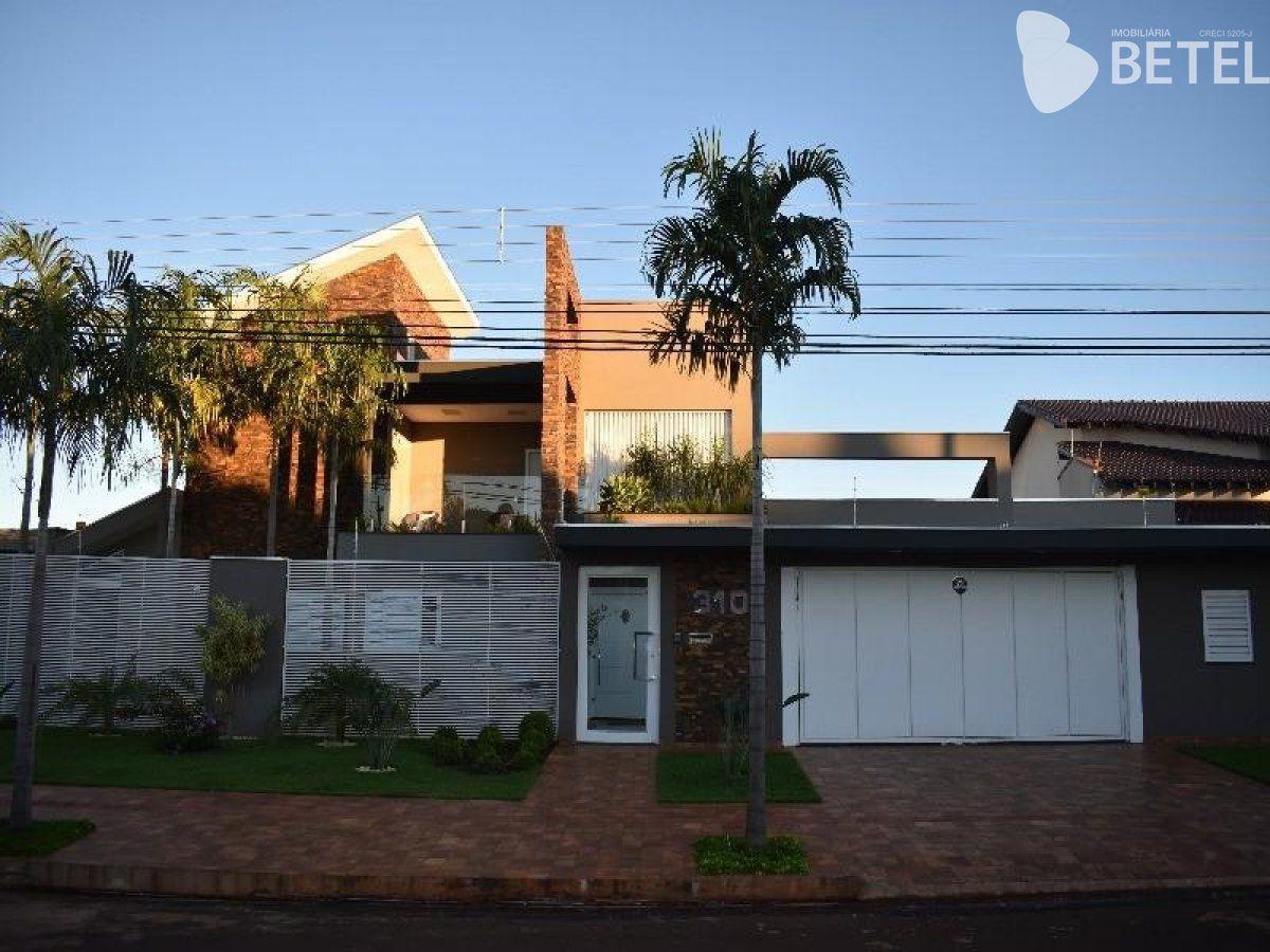 Casa à venda  no Alto das Paineiras - Dourados, MS. Imóveis