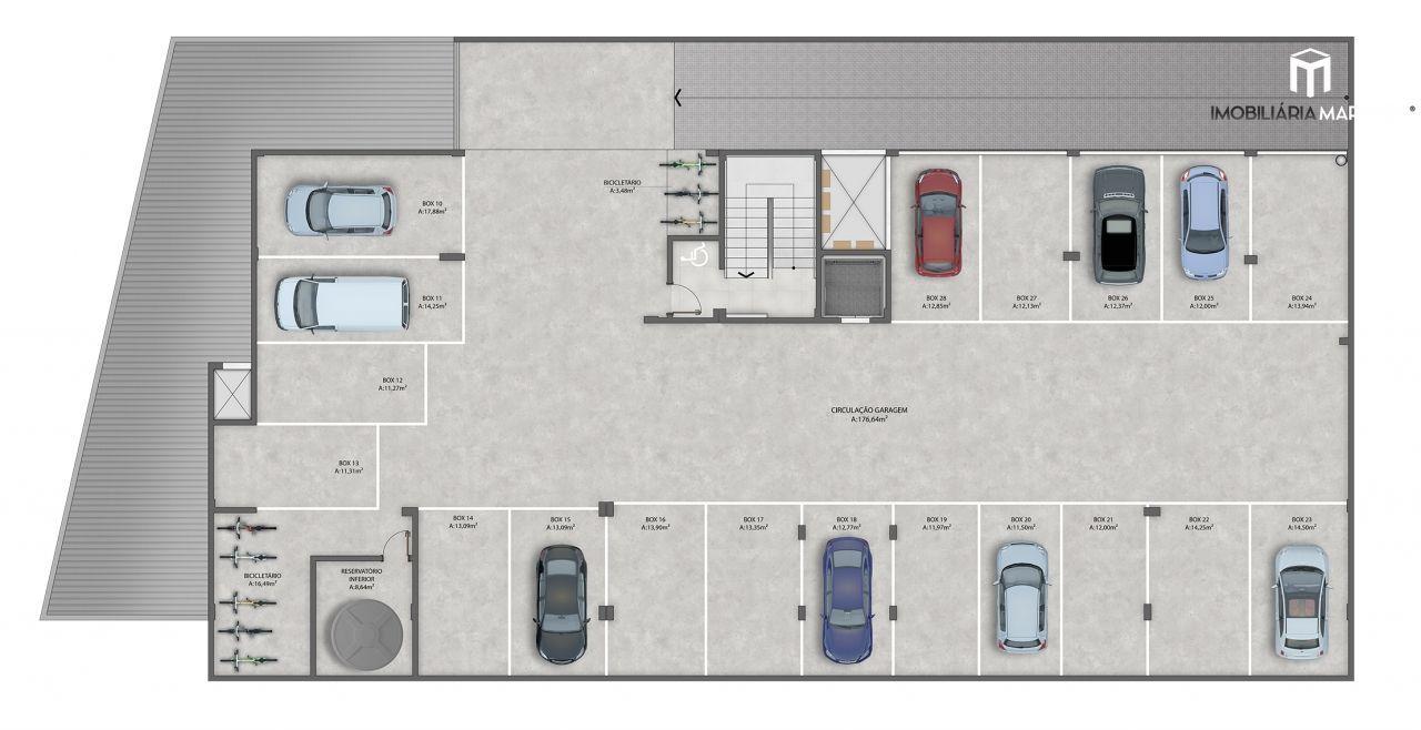 Apartamento com 2 Dormitórios à venda, 85 m² por R$ 358.294,00