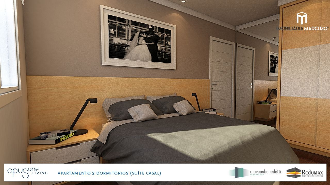 Apartamento com 2 Dormitórios à venda, 71 m² por R$ 375.223,00