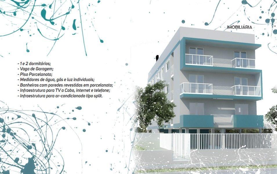 Apartamento com 2 Dormitórios à venda, 55 m² por R$ 285.399,00