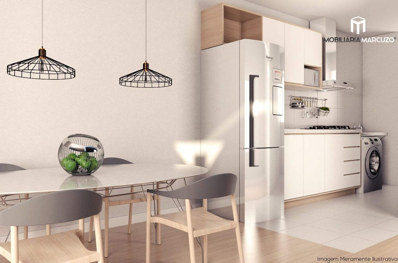 Apartamento com 2 Dormitórios à venda, 57 m² por R$ 215.000,00