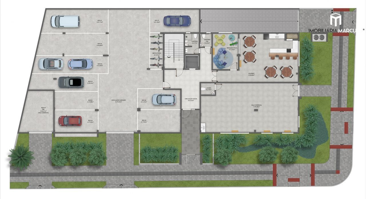 Apartamento com 3 Dormitórios à venda, 97 m² por R$ 463.599,00
