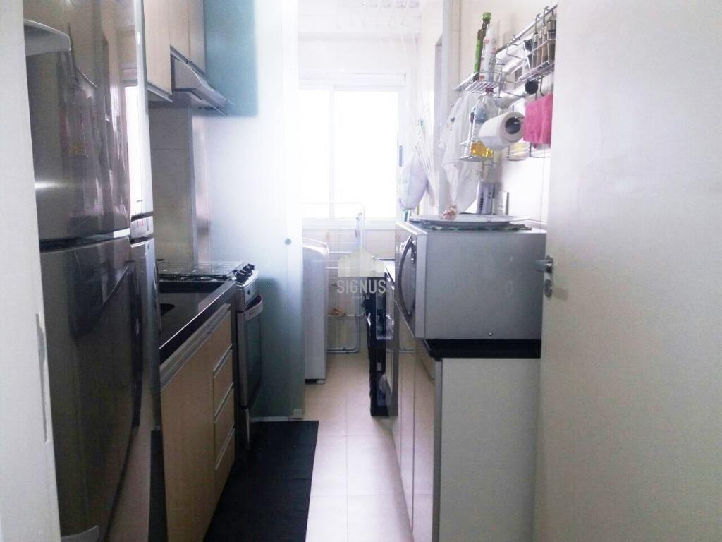 Apartamento com 3 Dormitórios à venda, 60 m² por R$ 375.000,00