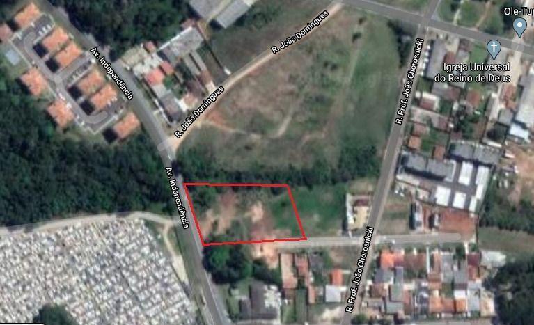Terreno comercial à venda  no Boqueirão - Araucária, PR. Imóveis