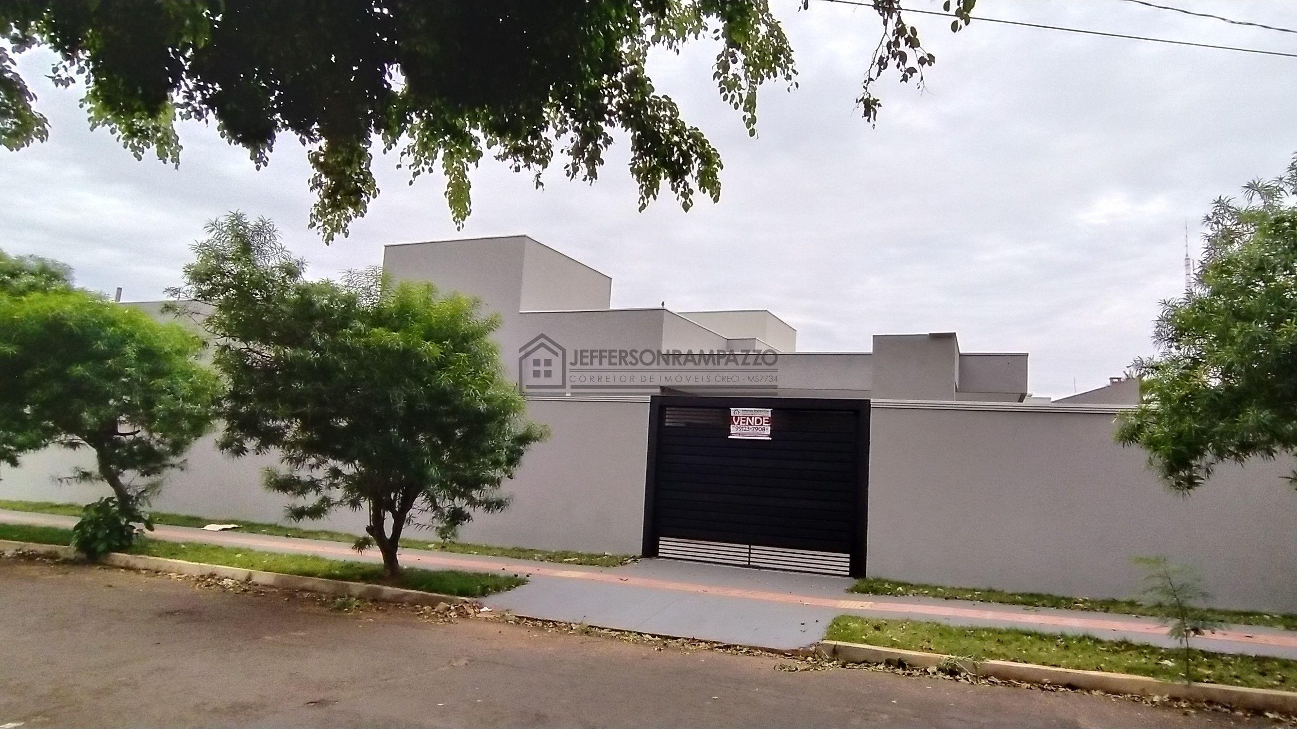 Casa à venda  no Jardim São Lourenço - Campo Grande, MS. Imóveis
